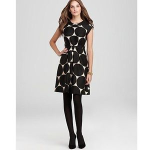 Kate Spade New York polka dot  pleated Jane dress